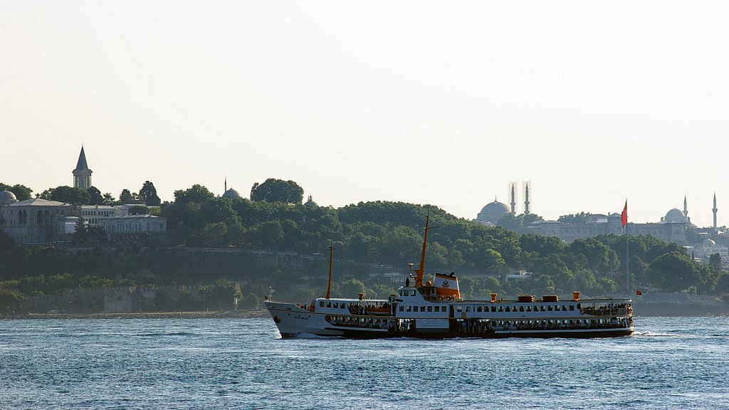 Gülhane Park and Golden Horn